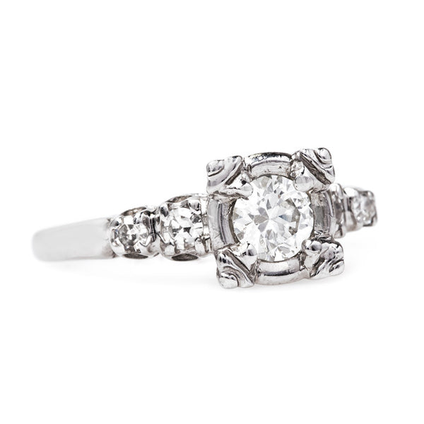 Retro Classic Diamond Wedding Ring | Old Saybrook from Trumpet & Horn