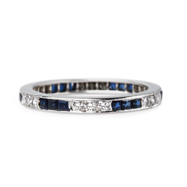 Oscar Heyman Sapphire Eternity Band | Pacific Dunes from Trumpet & Horn