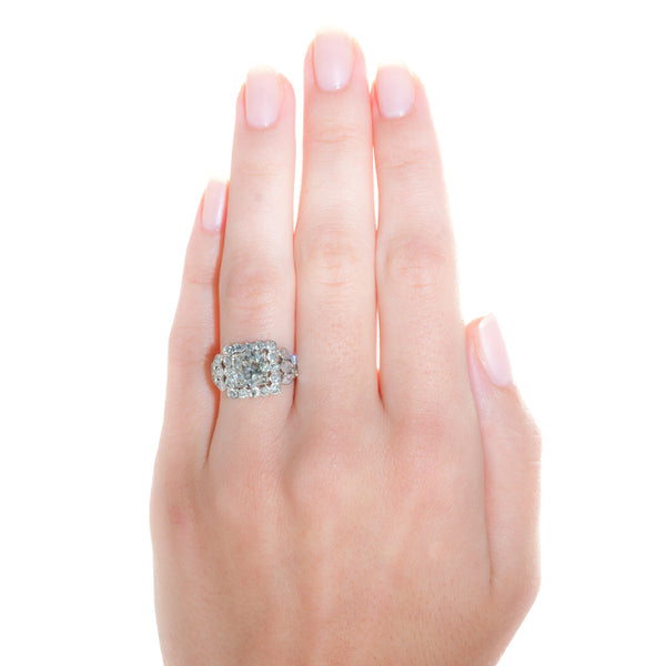 parker ring on hand