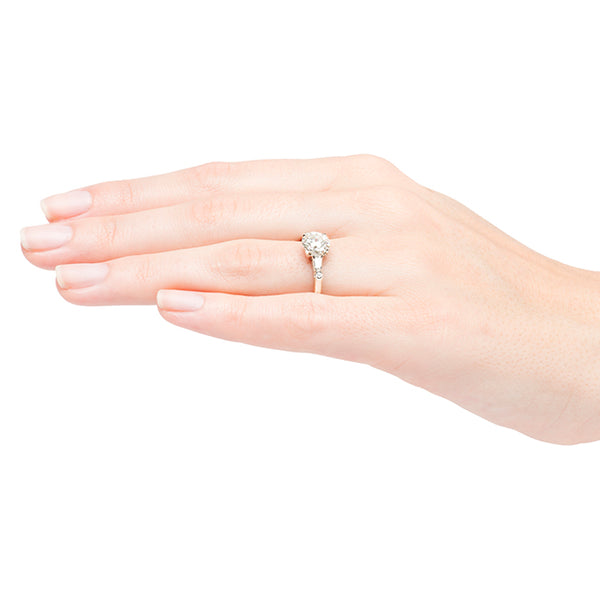 Vintage Art Deco Engagement Ring | Patterson from Trumpet & Horn