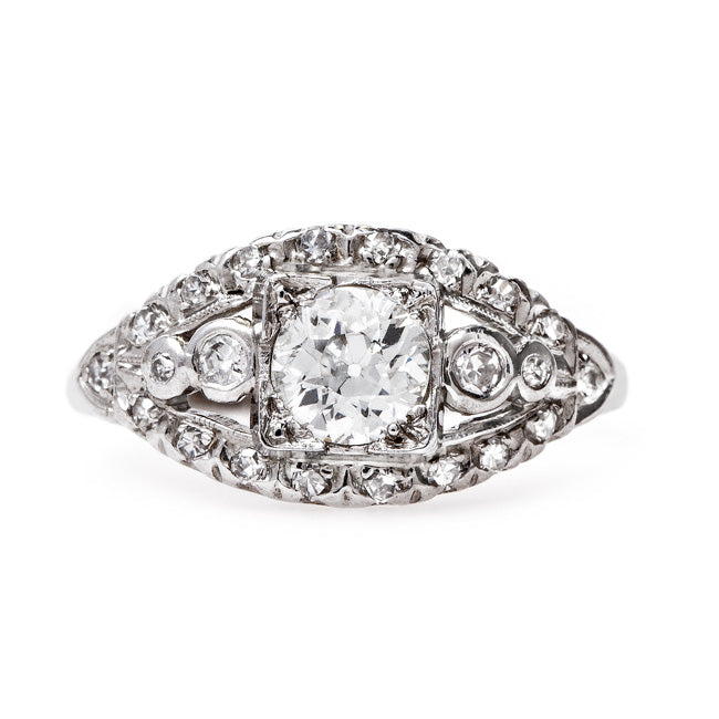 Classic Vintage Art Deco Engagement Ring | Phoenix from Trumpet & Horn