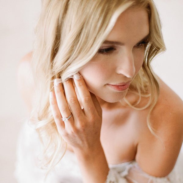 Classic Vintage-Inspired Solitaire Engagement Ring | Photo by Pictures & Hearts