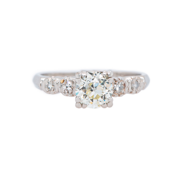 Classic Art Deco Engagement Ring