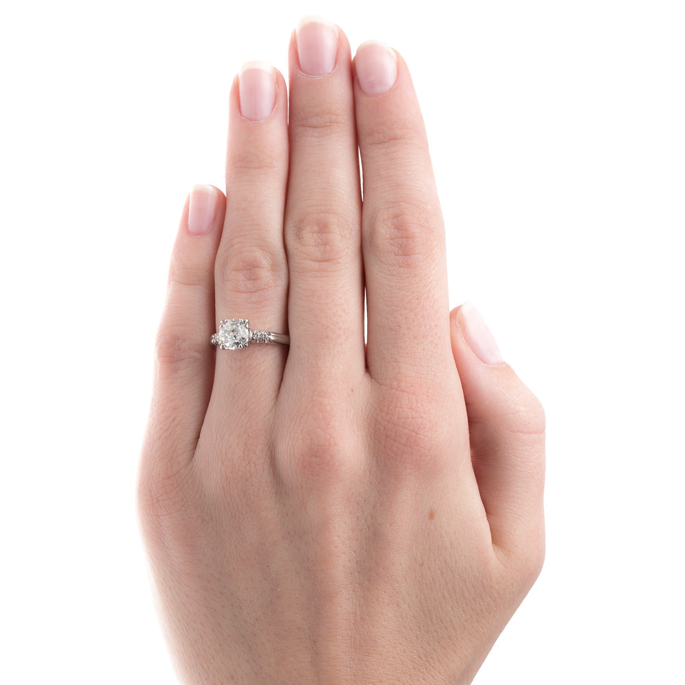 Vintage Engagement Ring | Buy Online At Trumpet & Horn