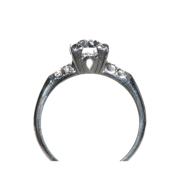 Vintage Engagement Ring with Old European Cut Diamond | Queensland from Trumpet & Horn