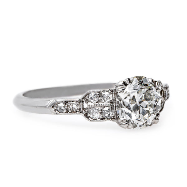 Sparkling Art Deco Engagement Ring | Queen Street from Trumpet & Horn