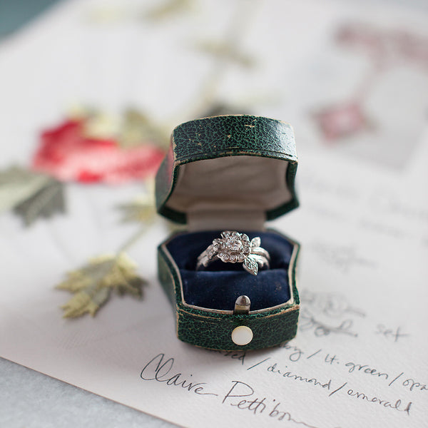 Heart's Desire White Gold | Claire Pettibone Fine Jewelry Collection | Photo by Sawyer Baird