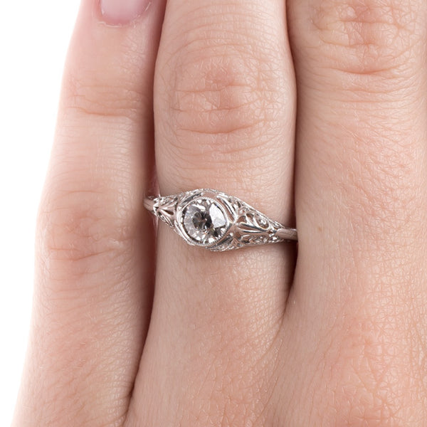 Bombe Style Engagement Ring | Randwick from Trumpet & Horn