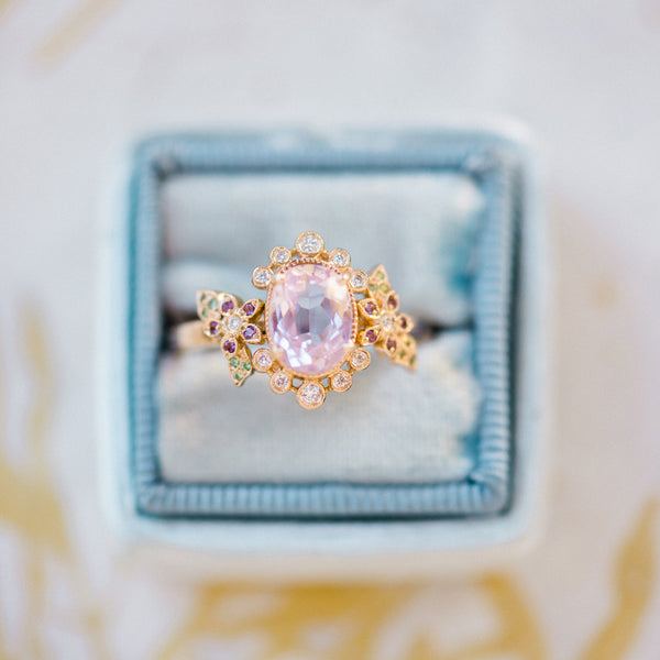 Grace | Claire Pettibone Fine Jewelry Collection from Trumpet & Horn | Photo by Renee Hollingshead