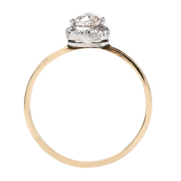 Rose Cut Pear Shaped Diamond Ring | Rockport from Trumpet & Horn