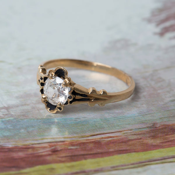 Exceptionally Unique Retro Solitaire | Rosedale from Trumpet & Horn