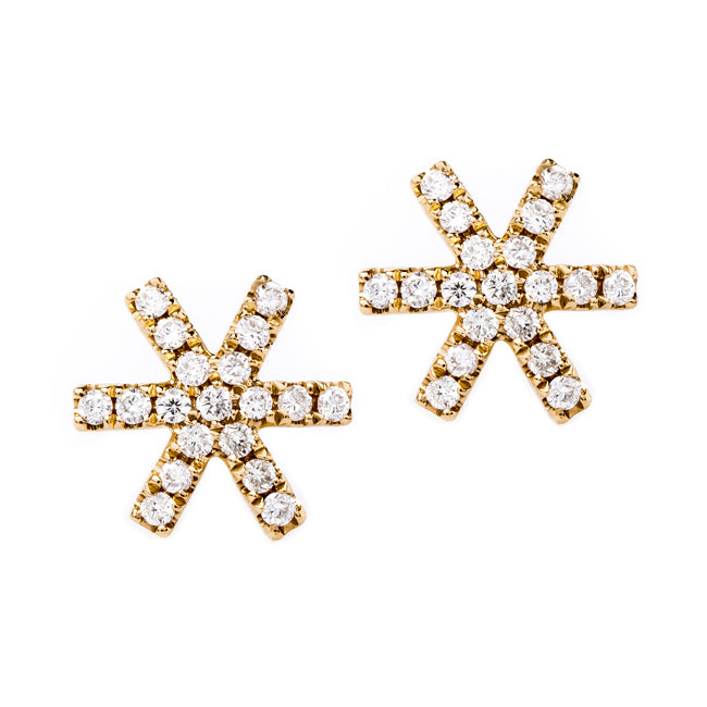 The Perfect Gift for Her | Sage Micropave Earrings from Trumpet & Horn