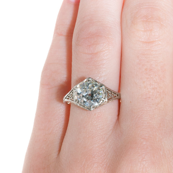 Edwardian Engagement Ring | Salemburg from Trumpet & Horn
