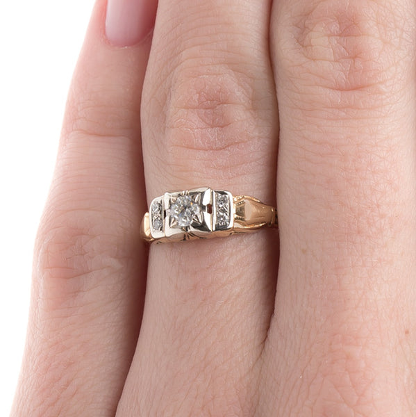 Vintage Engagement Ring | Salisbury from Trumpet & Horn