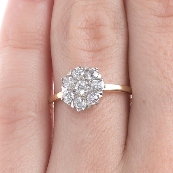 Victorian Cluster Engagement Ring | Sandcliff from Trumpet & Horn
