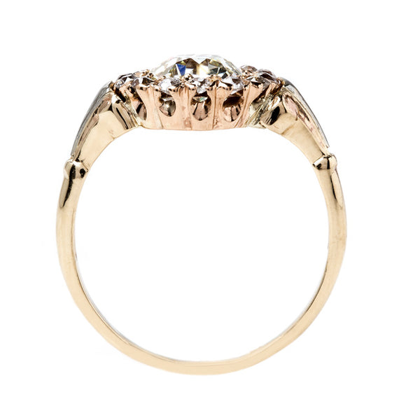 Stunning Victorian Cluster Ring | Santiago from Trumpet & Horn