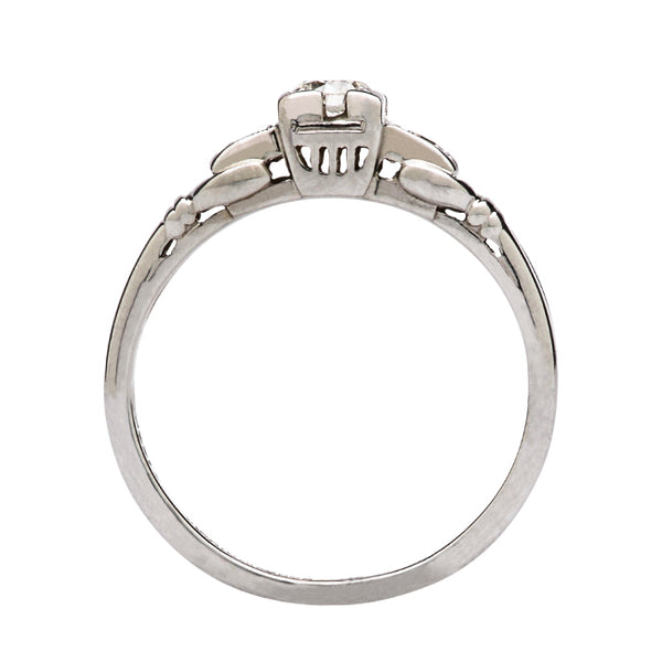 Vintage Art Deco Engagement Ring | Savoy from Trumpet & Horn