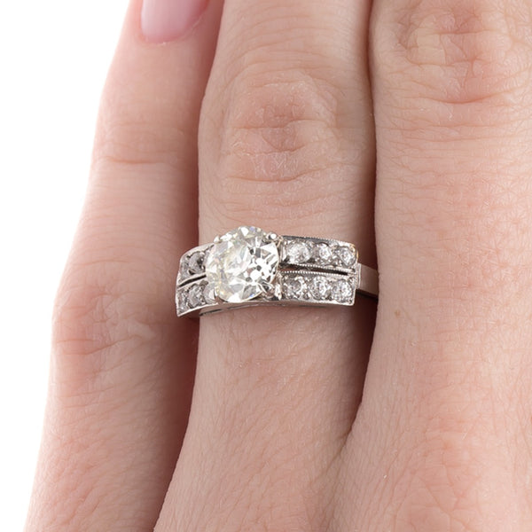 Vintage Diamond Engagement Ring | Scotland from Trumpet & Horn