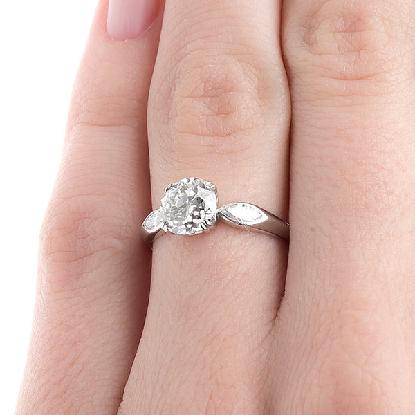 Classically Beautiful Art Deco Engagement Ring | Shadow Hill from Trumpet & Horn