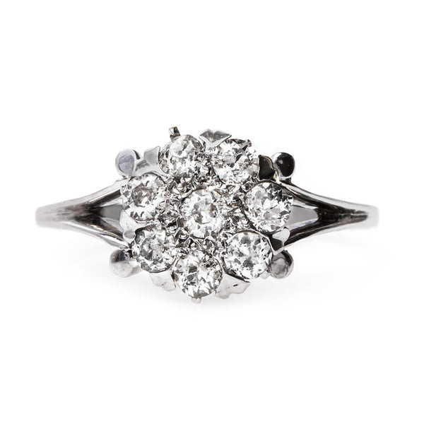 Late Art Deco Cluster Ring | Sherwood from Trumpet & Horn