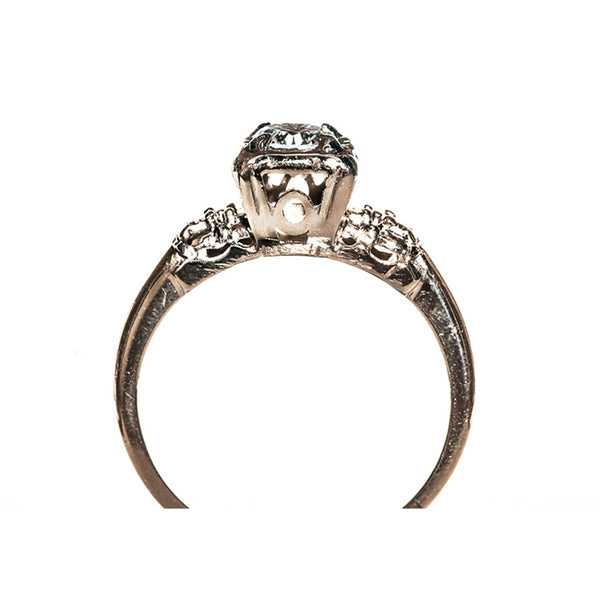 Vintage Retro Era Diamond Engagement Ring | Sierra from Trumpet & Horn