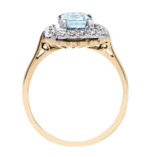 Crisp and Cool Aquamarine Ring | Siesta Key from Trumpet & Horn