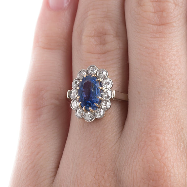 Victorian Era Sapphire Engagement Ring | Solvang from Trumpet & Horn