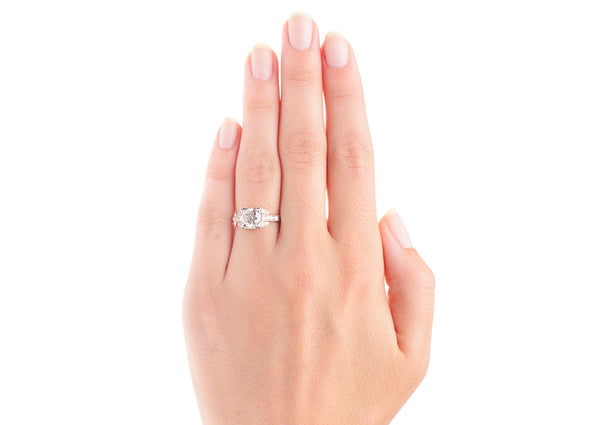 sperryville engagement ring on hand