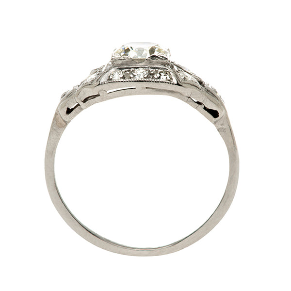 spring hill art deco engagement ring