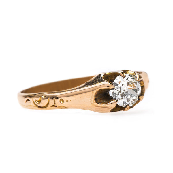 Antique Victorian Solitaire Ring | Stars Hollow from Trumpet & Horn