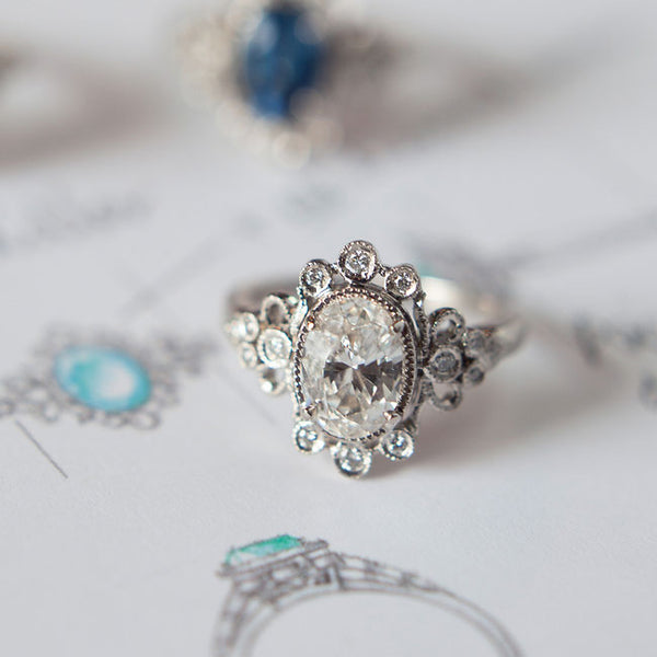 Versailles | Claire Pettibone Fine Jewelry Collection | Photo by Sawyer Baird
