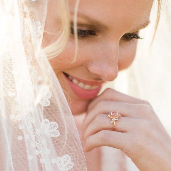 Grace | Claire Pettibone Fine Jewelry Collection from Trumpet & Horn | Photo by Stephanie Ponce