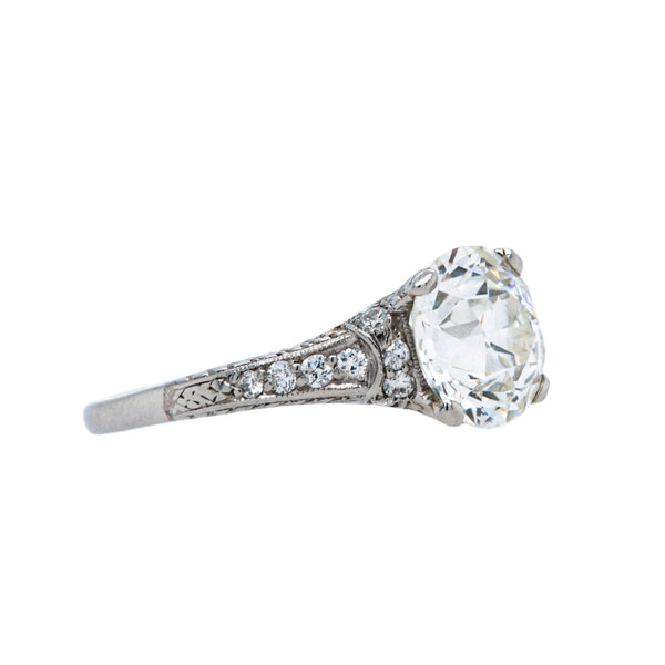 An Unbelievable Art Deco Platinum and Diamond Engagement Ring | Stoney Creek
