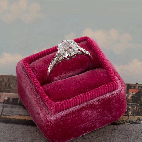 Vintage Diamond Engagement Ring | Stratford from Trumpet & Horn