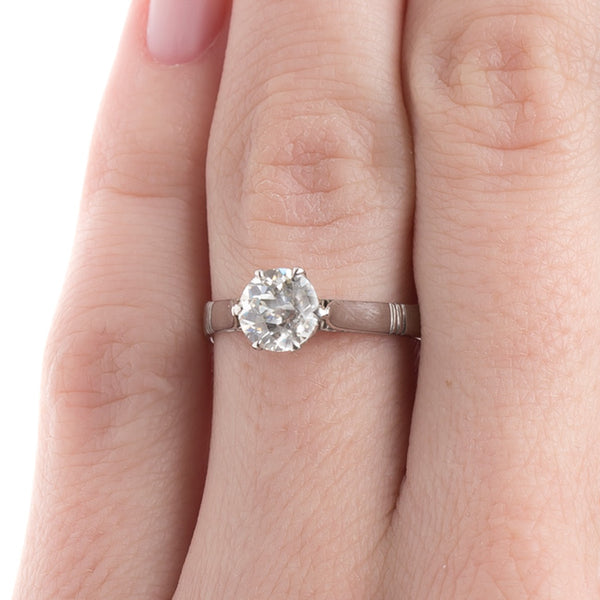 Vintage Art Deco Solitaire Engagement Ring | Sullivan's Island from Trumpet & Horn