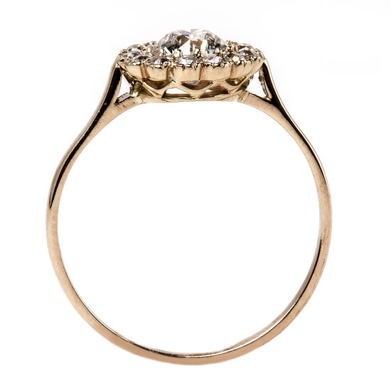 Rose Gold Edwardian Diamond Ring | Sunset Hill from Trumpet & Horn
