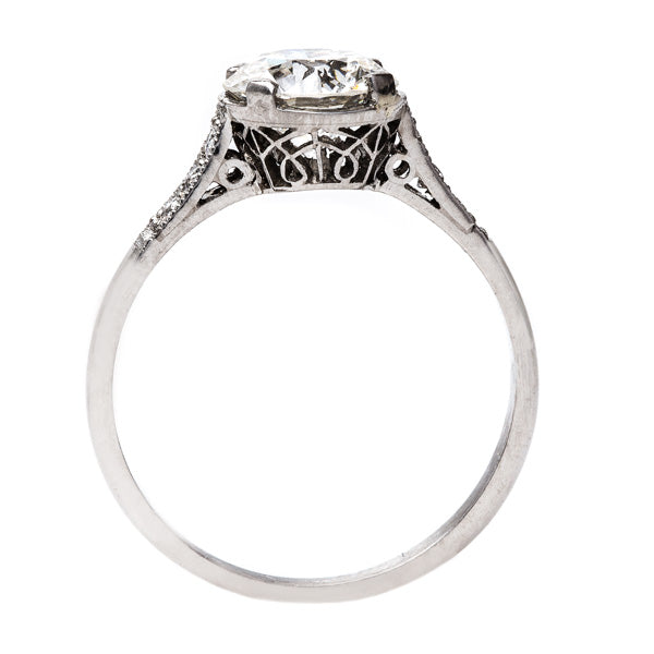 Glittering Art Deco Engagement Ring | Thistlewood from Trumpet & Horn