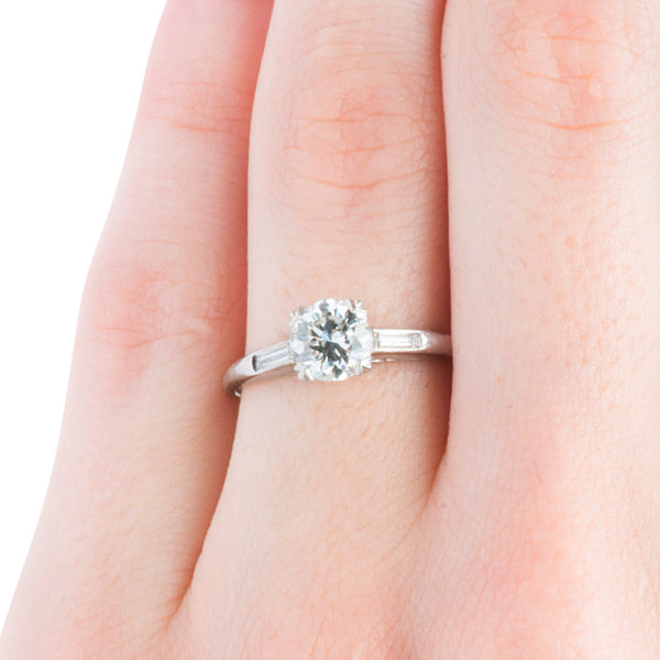 Vintage Art Deco Ring | Vintage Engagement Ring | Toulouse from Trumpet & Horn