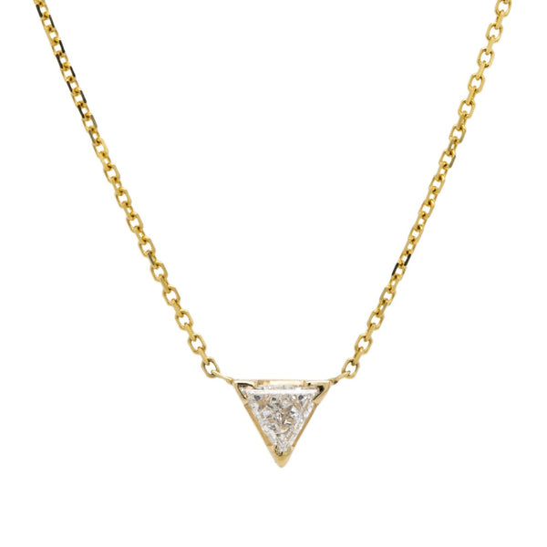 Minimalist Diamond Necklace, a Perfect Sparkly Gift | Trifecta at T&H