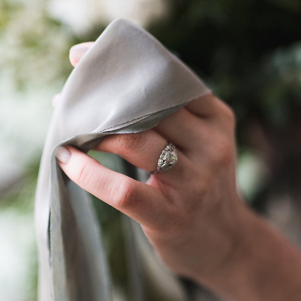 Stunning Art Deco Engagement Ring | Kingsway from Trumpet & Horn | Photo by Tulip + Rose