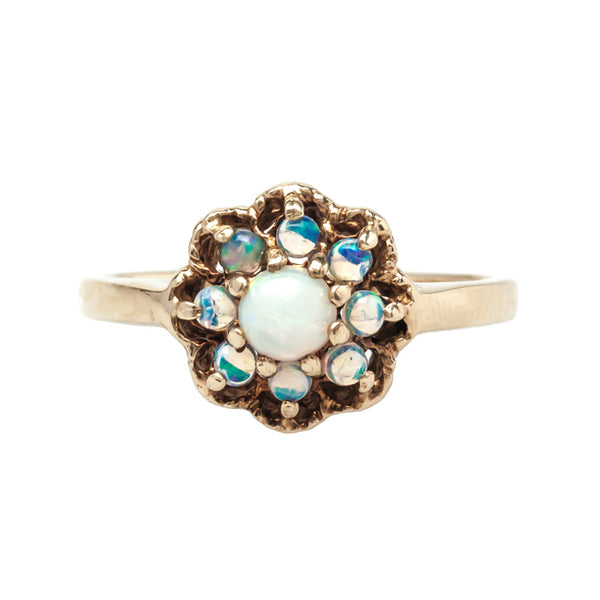 Mayberry vintage opal ring from Trumpet & Horn