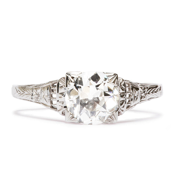gibson art deco ring