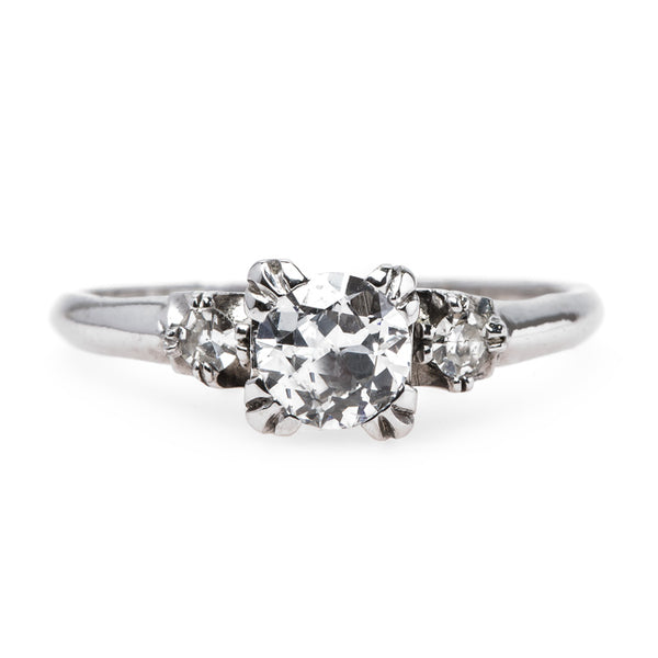 Sweet and Simple Art Deco Ring | Archer Heights from Trumpet & Horn