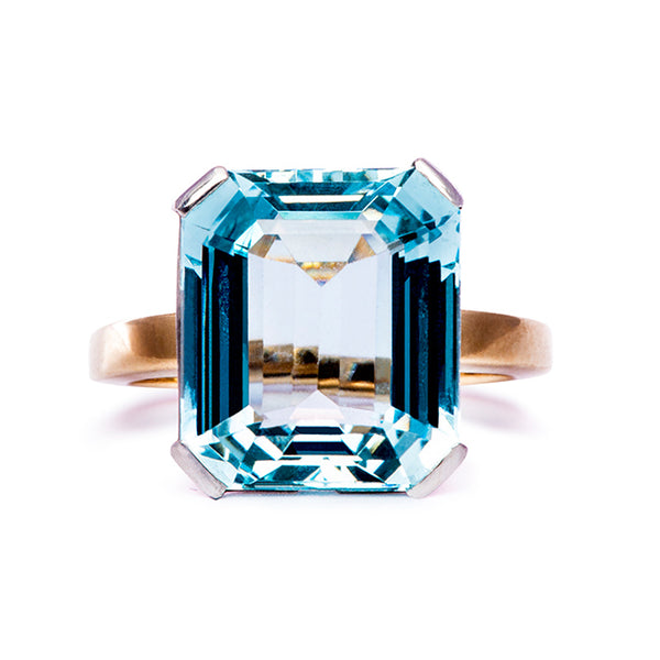 bigbear aquamarine cocktail ring