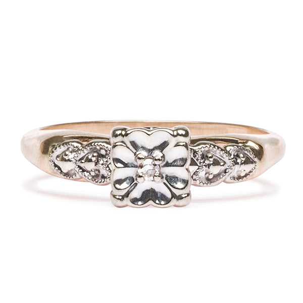 inexpensive unique engagement ring