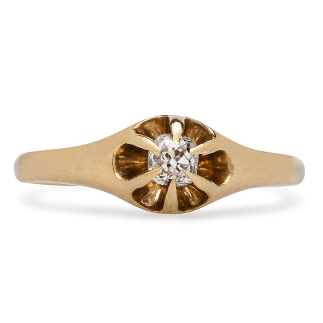Edwardian Engagement Ring | Rockwell from Trumpet & Horn