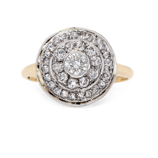 Whimsical Vintage Cluster Ring | Hudson Bay from Trumpet & Horn