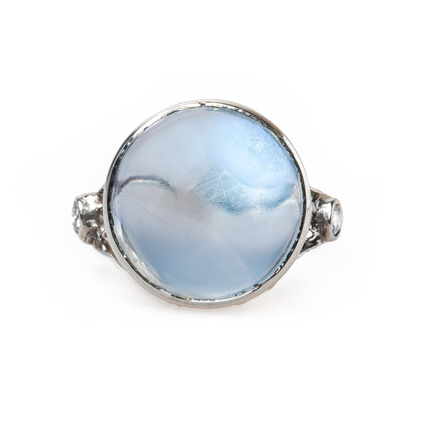 Cabochon Moonstone Engagement Ring | Villanova from Trumpet & Horn