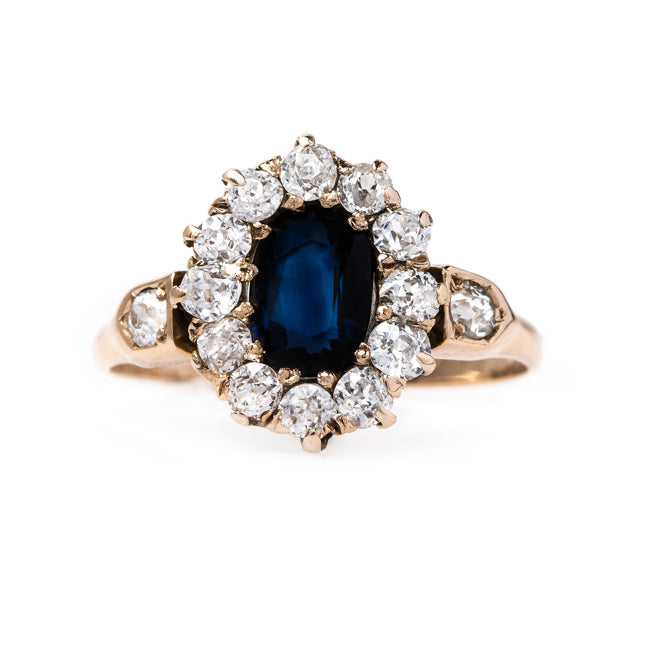 Fabulous Victorian Engagement Ring | Kalorama from Trumpet & Horn