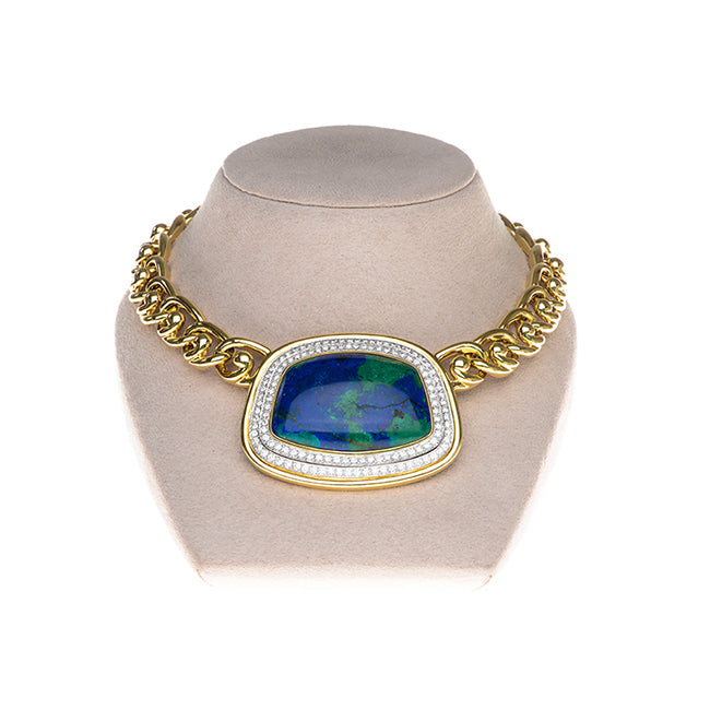 david webb world necklace